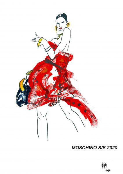 à PART or a PART- Moschino SS2020