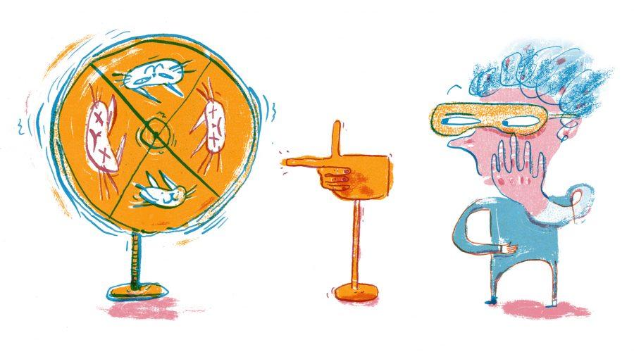 Shrodinger's Wheel of fortune