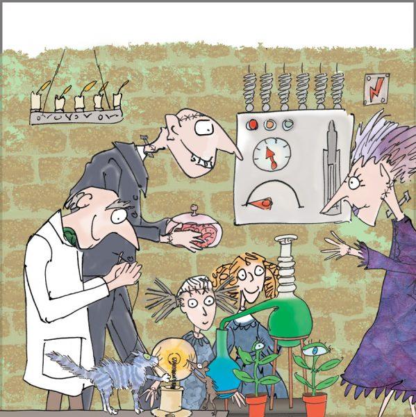 mad sceintist's laboratory