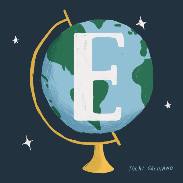 E is for Earth
