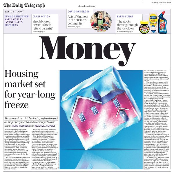 Housing Market Set for Year-Long Freeze