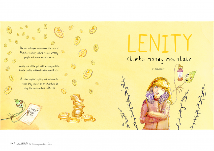 Lenity Climbs Money Mountain Cover