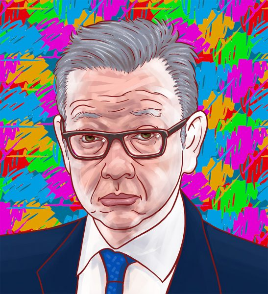 Michael Gove party animal
