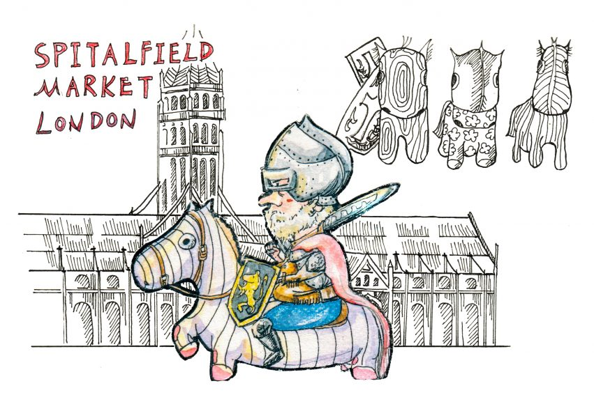 A Knight on the Market