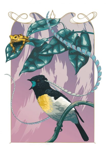 2 mailer bird of paradise - lon chan