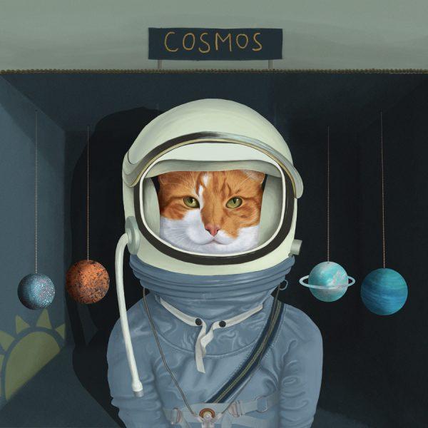 Cat Cosmonaut