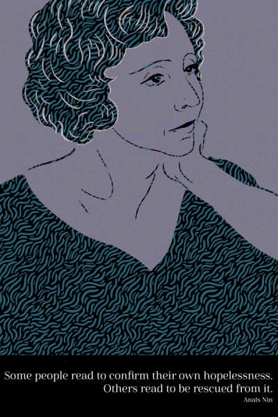 Portrait of Anaïs