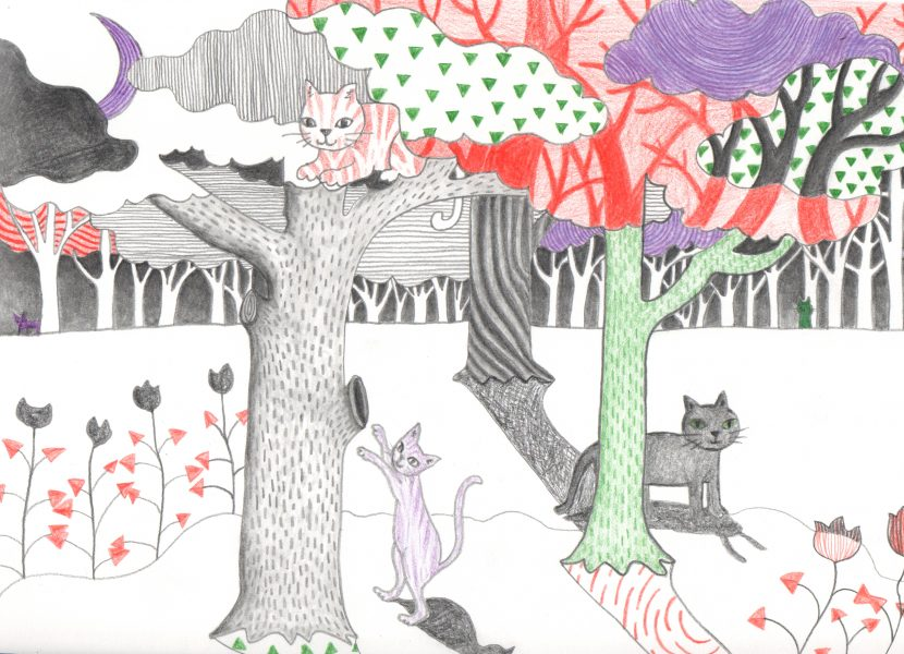 Cats_In_The_Forest