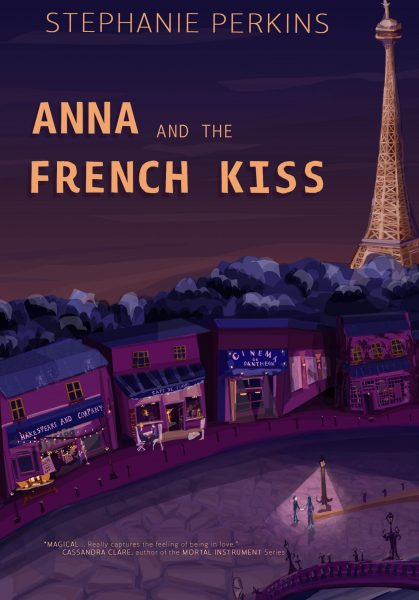 Front cover Anna and the French Kiss