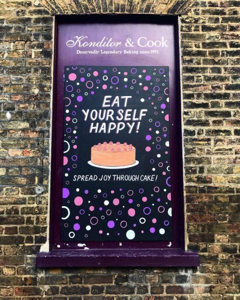 Chalkboard for Konditor & Cook