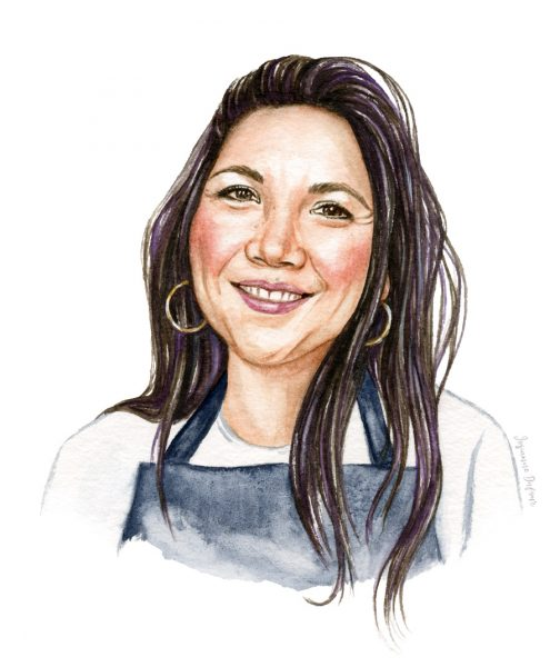 Portrait of Lauren Toyota from Hot for Food