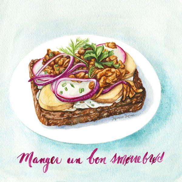 Smorrebrod sandwich