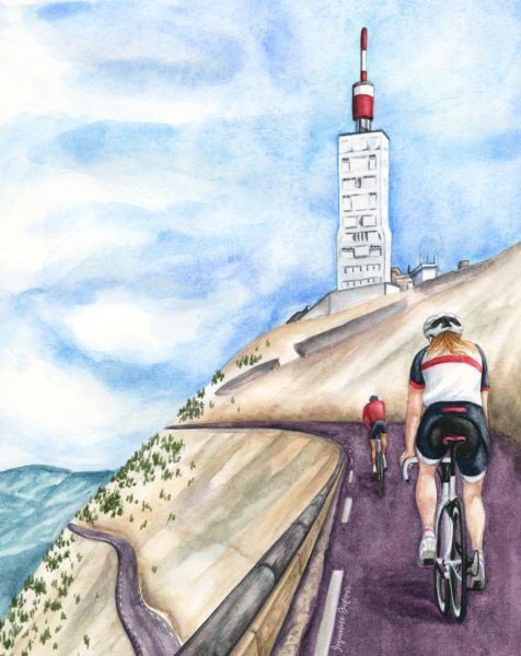 Mont Ventoux by bike
