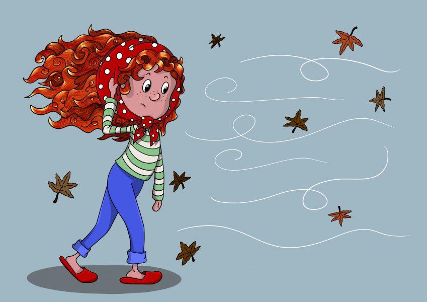 Windy Red head