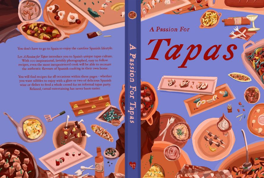 Re - Design for ' A Passion for Tapas'