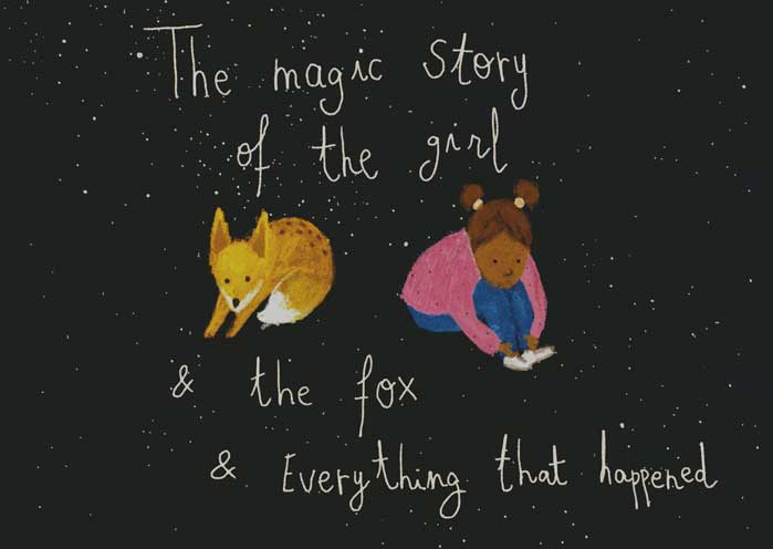 The magic story of the girl and the fox and everything that happened