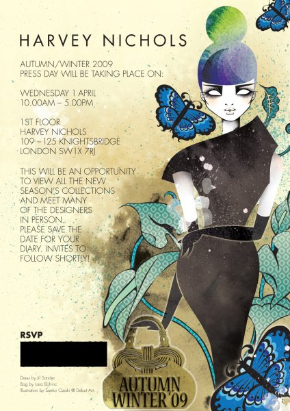 Harvey Nichols Press Day Invite