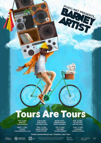 Barney Artist Tour Artwork