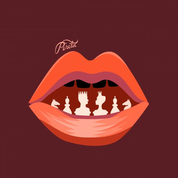 Pirita Tolvanen: Chess Kiss