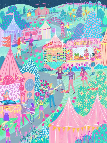 Festival Illustration
