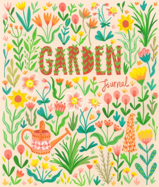 Garden book cover design