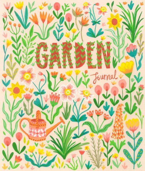 Garden book cover design
