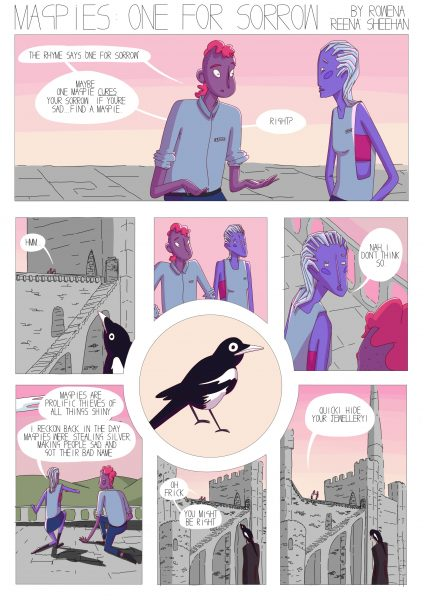 Magpies Comic