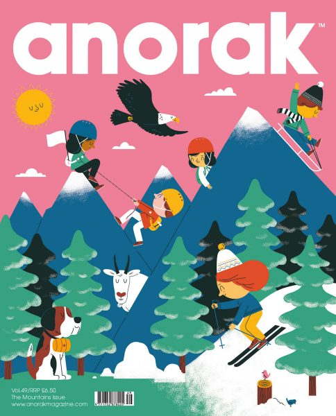Anorak Magazine Mountains Issue