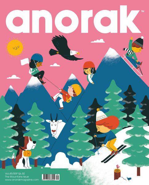 Anorak Magazine Mountains Issue
