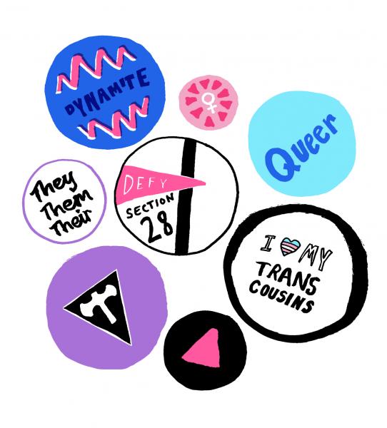 LGBTQ+ Badges
