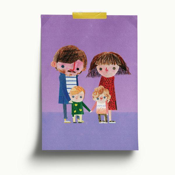 Paper-cut Portraits