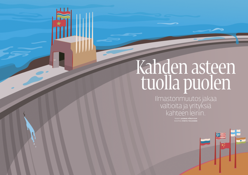 Pirita Tolvanen: Split World (The Article illustration)