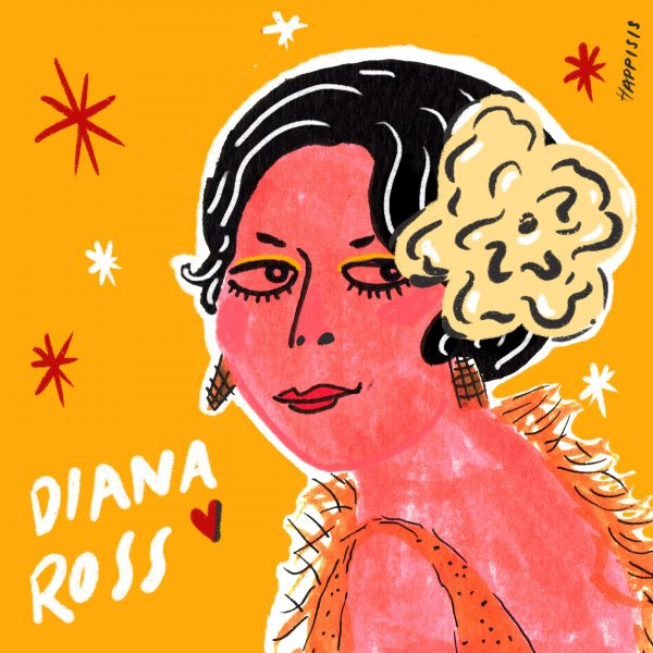 Diana ross portrait