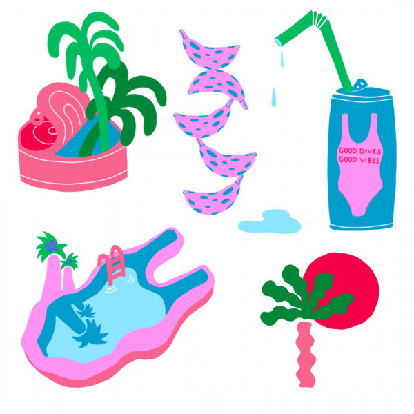 Tropical Doodles