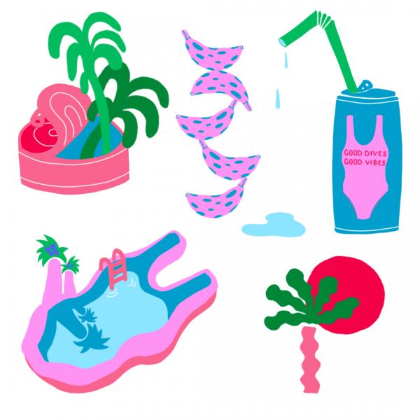Tropical Doodles