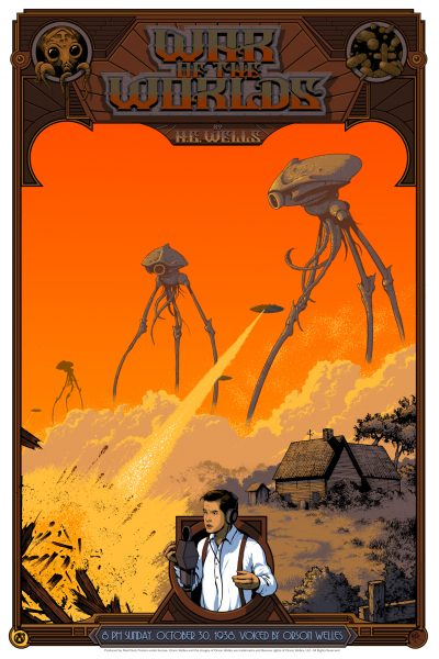 War of the Worlds Mad Duck Posters