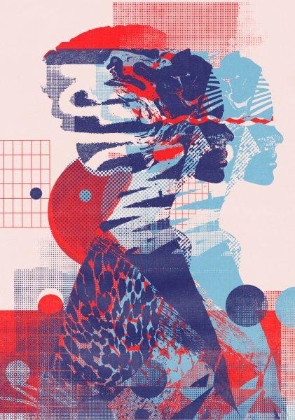 10_Lucid Dreams II Red Blue