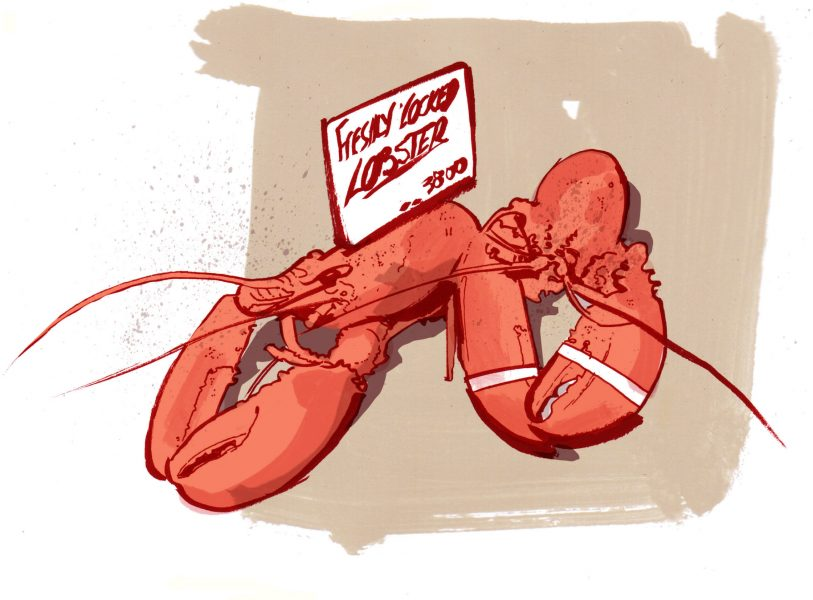 14_Lobsters Food Illustrations