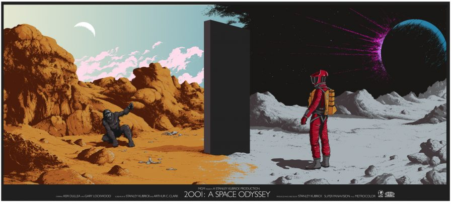 2001: A Space Odyssey - Progression