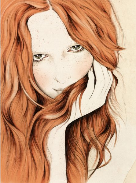 Alice Freckles Redhead Hair
