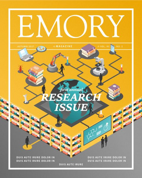 9_Emory University Magazine Cover