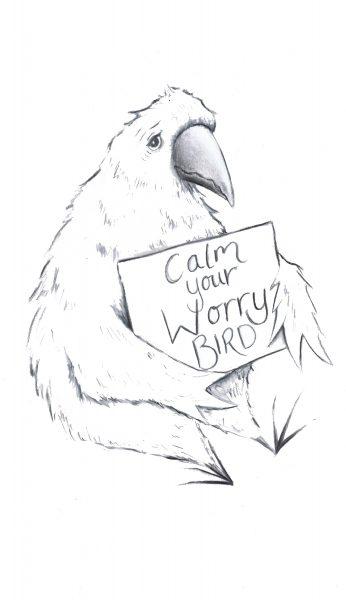 Calm Your Worry Bird