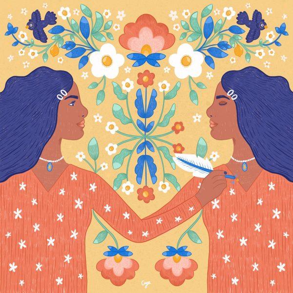 Self reflection-Aya Mobaydeen