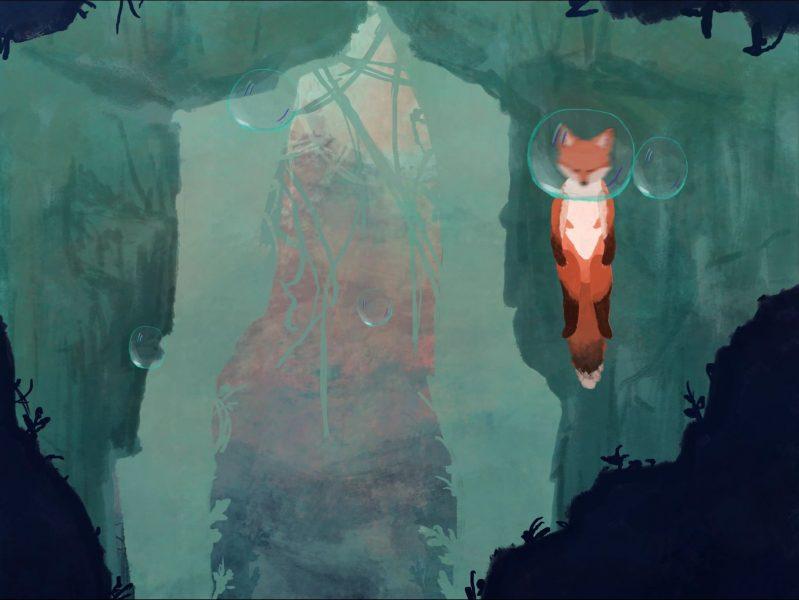 Fox in a bubble