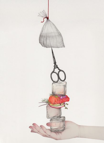 Hanging by a string - 'Still life' Series