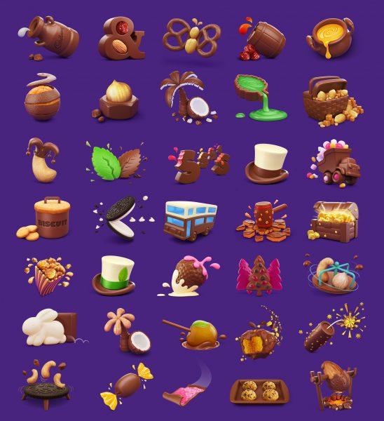 Cadbury Dairy Milk Joycons