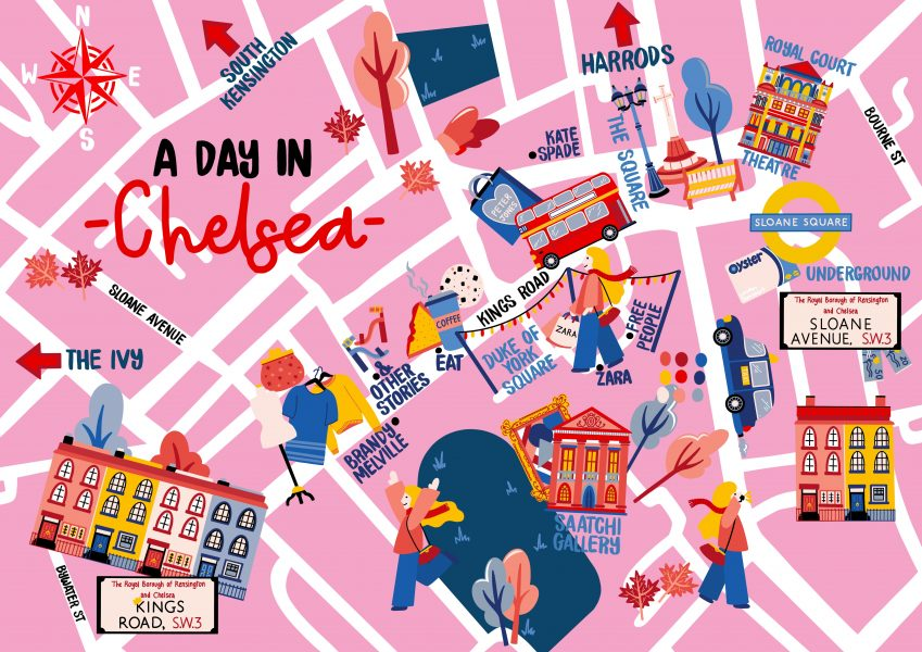 A day in Chelsea