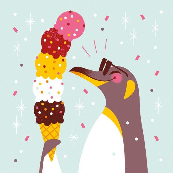 Icecream Penguin