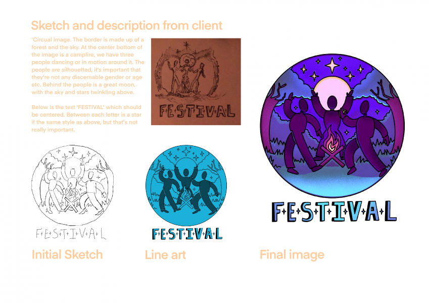 'Festival' Album Cover Production