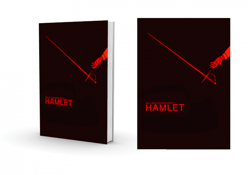 'Hamlet' Book Cover design